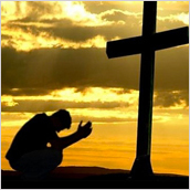 Laying down our burdens at the feet of Christ