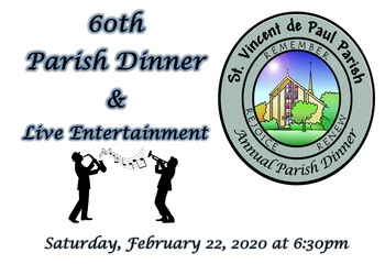60th Annual Parish Dinner/ Cena Parroquial