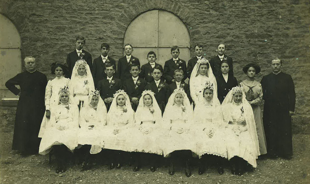 St. Lawrence School 1901 First Communion