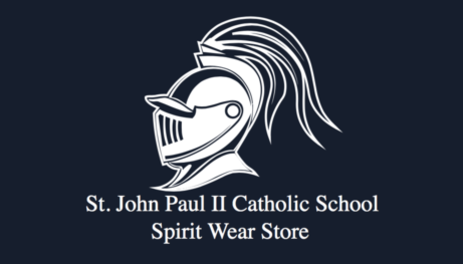 JPII Spirit Wear Store for Family Fridays!