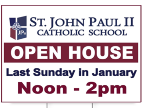 Open House: January 31, 2021