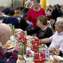 Annual Christmas Dinner serves meals and fellowship