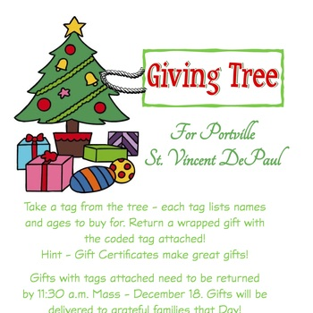 Gift Giving Tree