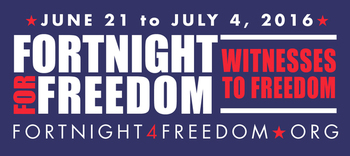 Fortnight For Freedom Ends