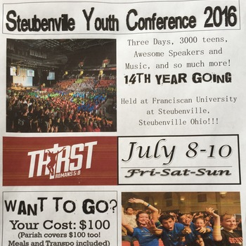 Steubenville Youth Conference 2016