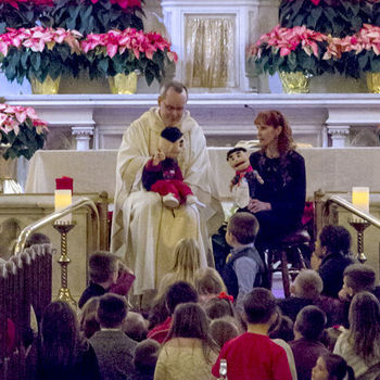 St. Mary's priests featured in overview of Christmas messages