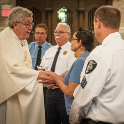 Blue Mass Photo Gallery from Times Herald