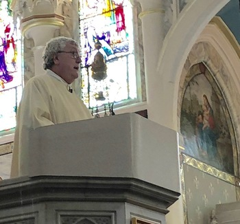 Fr. Greg announces his retirement slated for end of July