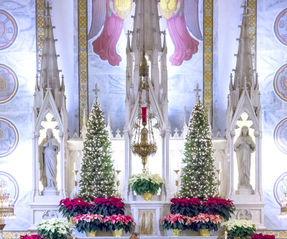 Christmas Eve/Christmas Day Mass Schedule at the Basilica