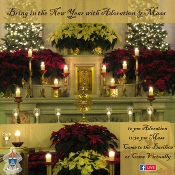 New Year's Masses & Devotions