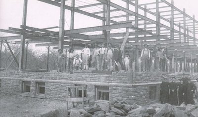 1903 - Construction for the existing St. Mary's Church began