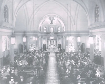 1905 - The church was dedicated on December 17