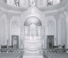 1930 - The High Altar was consecrated by Bishop O'Hern on May 9th