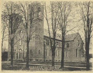 1905 - Construction of St. Mary's Church was completed