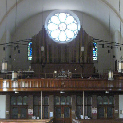 1990 - New pipe organ installed in September to replace the electric organ