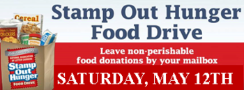 STAMP OUT HUNGER - Post Office Food Collection