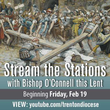 Live-Streamed Stations of the Cross with Biship O'Connell