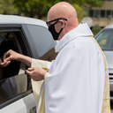 Bishop O'Connell announces approval of 'in car' Masses, distribution of Eucharist