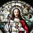 The Sacred Heart of Jesus and the human heart of the priest beat as one