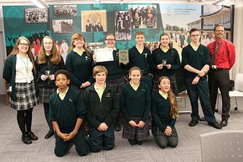 OLPH victorious in Camden Diocese's academic contest