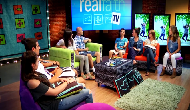 Realfaith TV, the Gabriel Award winning, faith-based program for teenagers, will film its last episode in February 2017.  Take a look at past seasons on realfaithtv.com!
