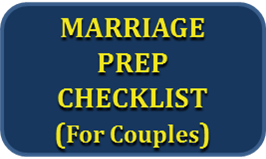 Marriage Prep Checklist