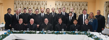 Bishop celebrated Mass with Diocesan seminarians, released #YoungSaints Video