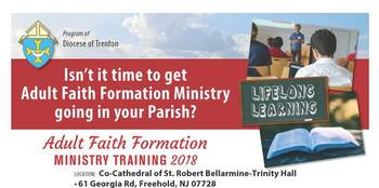 Adult Faith Formation Ministry Training - Fall 2018