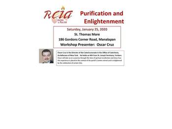 RCIA Team Training: Purification and Enlightenment - English & Spanish Speaking