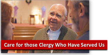 Care for those clergy who have long served us