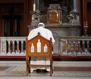 Diocesan notice on new papal document regarding sexual abuse reporting