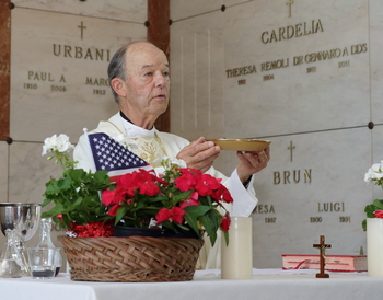 Bishop's Memorial Day message; Masses set at cemeteries; Green Ribbon School announced
