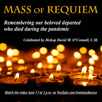 Bishop to pray for the beloved departed during Mass set for June 17