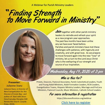 Finding Strength to Move Forward with Ministry Webinar