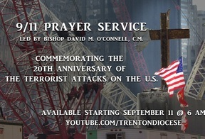 Faithful invited to join Bishop in online prayerservice to mark 20th anniversary of 9/11