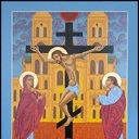 Icons and drawings on display at Archabbey Library Gallery