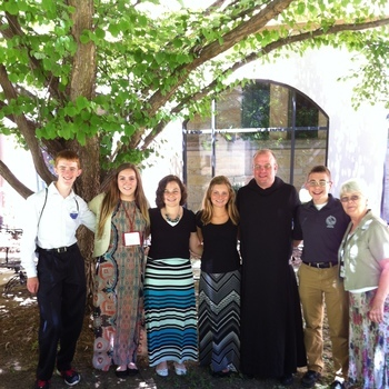 Parish Youth Attend One Bread, One Cup Conference