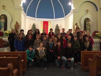 Deanery Youth Gather to Celebrate the Epiphany