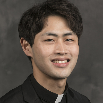 Seminarian Jin-Yong (Francisco) Bark (Diocese of Masan in South Korea)