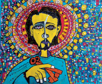Saint Meinrad Exhibit Features Artist Roy Ruiz Clayton