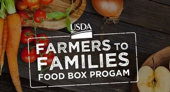 Farmers to Families Mobile Food Box Drive-Thru