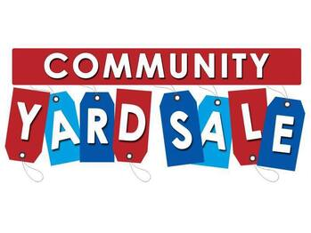 AREAWIDE YARD SALE DAYS MAY 14 –15