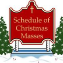 Christmas Mass Schedule (Updated)
