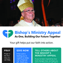 Bishop's Ministry Appeal - Second Collection October 13 - 14