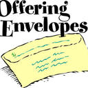 Weekly Offertory Collection Envelopes