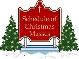 Christmas Day Mass Schedule