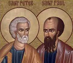 Mass for Saints Peter and Paul