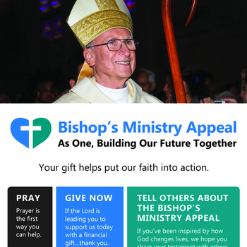 Bishop's Ministry Appeal Second Collection