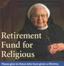 Second Collection for Religious Retirement Fund