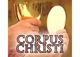 Corpus Christi Sunday - Masses at Noon and 6:00 PM